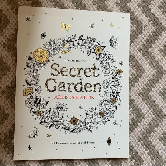 Secret Garden Art Colouring Book
